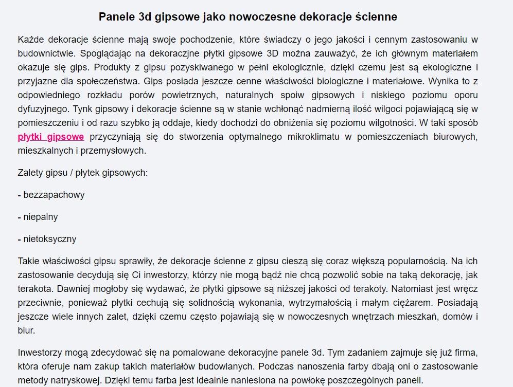 teksty na stronę główną i podkategorii strony Erplus - Copywriter Szymon Owedyk